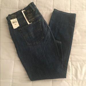 Lucky Brand Emma straight jeans